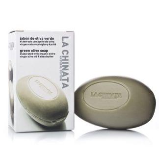 Jabón de Oliva Verde Natural Edition La Chinata - 150 gramos