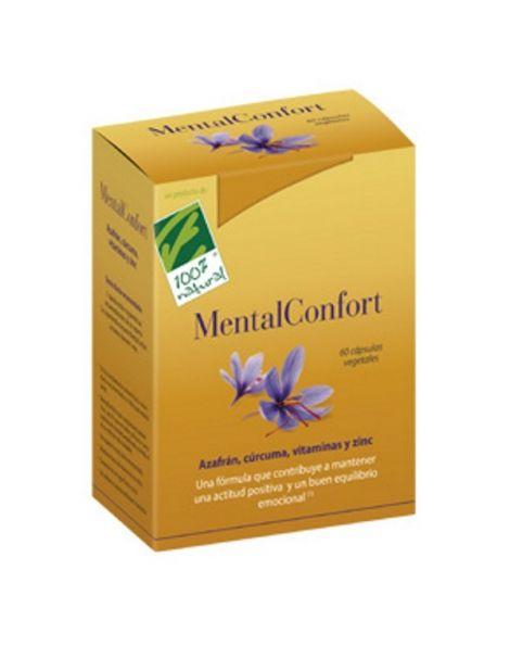 MentalConfort Cien por Cien Natural - 60 cápsulas
