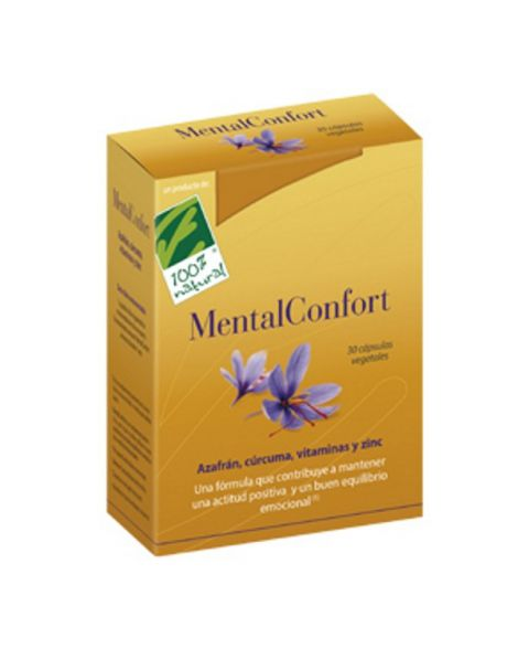 MentalConfort Cien por Cien Natural - 30 cápsulas