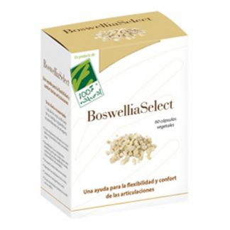 BoswelliaSelect Cien por Cien Natural - 60 cápsulas