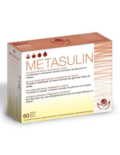 Metasulin Bioserum - 60 cápsulas