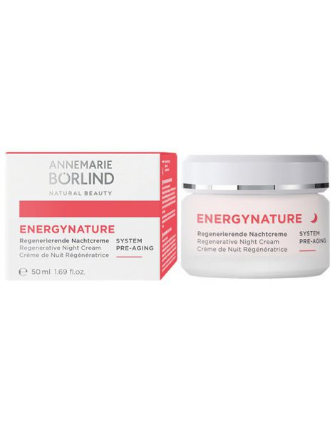 Crema de Noche Regeneradora Energy Nature AnneMarie Börlind - 50 ml.