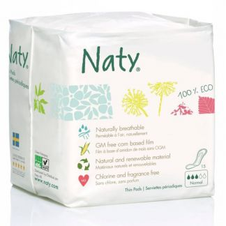 Compresa Normal Naty - 15 unidades