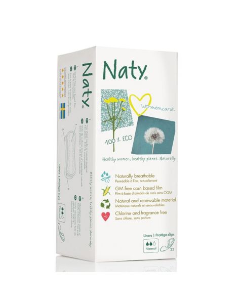 Salvaslip Normal Naty - 32 unidades