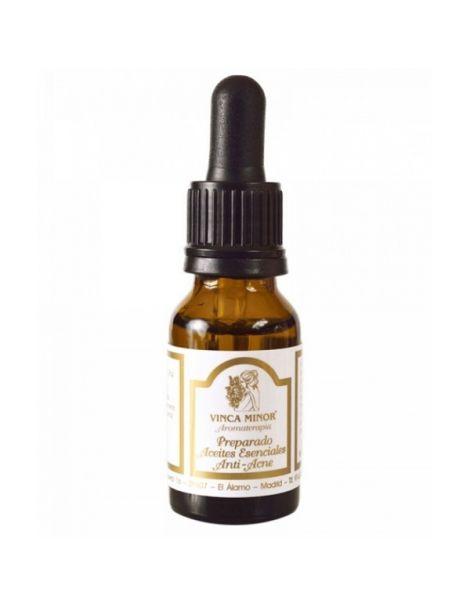 Aceite Esencial Anti-Acné PAE Vinca Minor - 17 ml.
