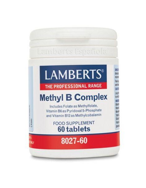 Methyl B Complex Lamberts - 60 comprimidos