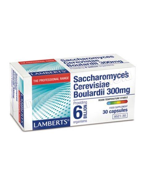 Saccharomyces Cerevisiae Boulardii Lamberts - 30 cápsulas