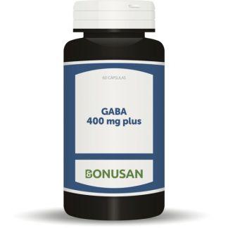 GABA Plus 400 mg. Bonusan - 60 cápsulas