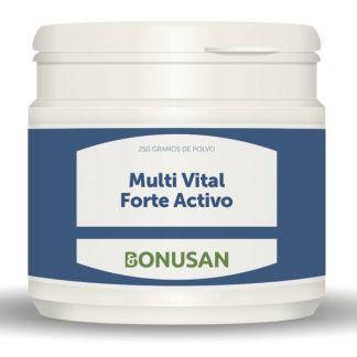 Multi Vital Forte Activo Polvo Bonusan - 250 gramos