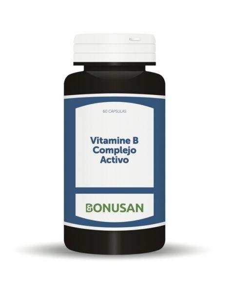 Vitamina B Complejo Activo Bonusan - 60 cápsulas