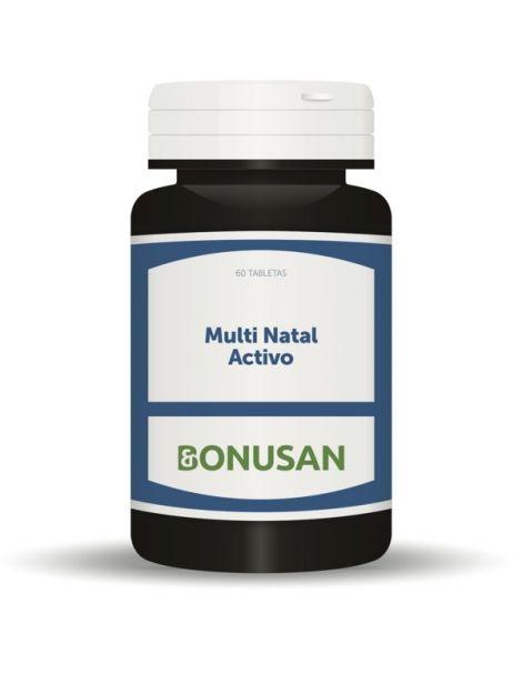 Multi Natal Activo Bonusan - 60 tabletas