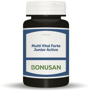 Multi Vital Forte Junior Activo Bonusan - 60 cápsulas