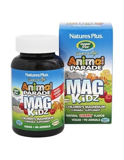 Animal Parade Mag Kidz Nature's Plus - 90 comprimidos