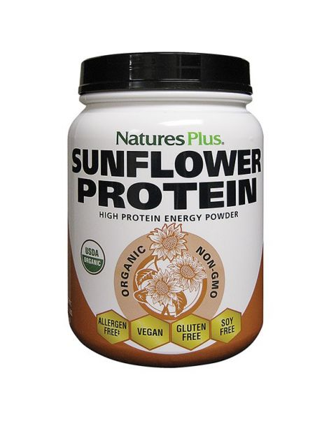 Proteína de Girasol (Sunflower Protein) Nature's Plus - 555 gramos