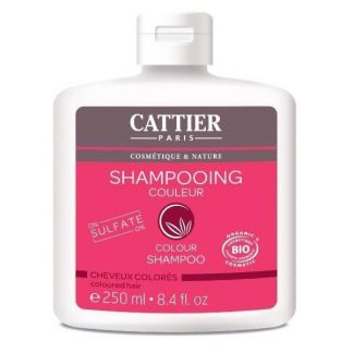 Champú Color Cabello Teñido Cattier - 250 ml.