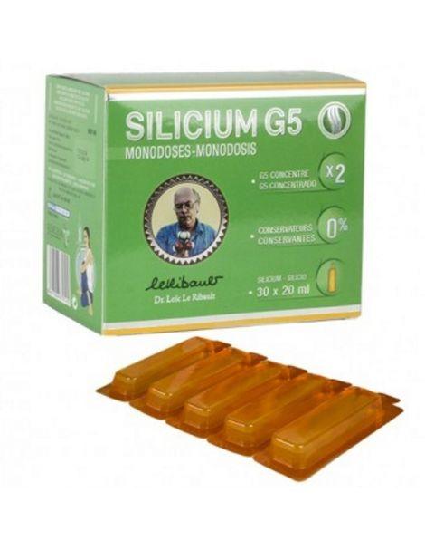 Silicium G5 Monodosis Silicium España - 30x20 ml.