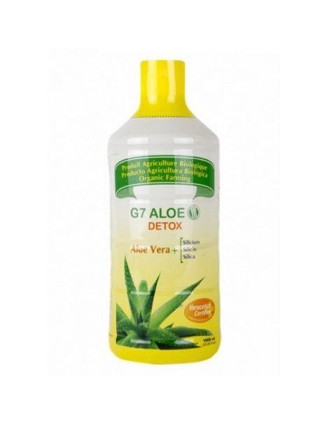 Silicium G7 Aloe Vera Detox Silicium España - 1000 ml.