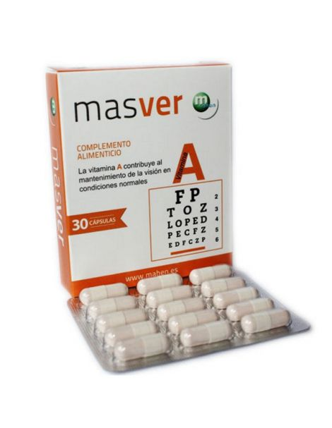 Masver Mahen - 30 cápsulas