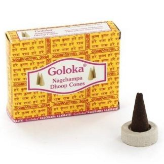 Incienso Goloka Nag Champa - 10 conos