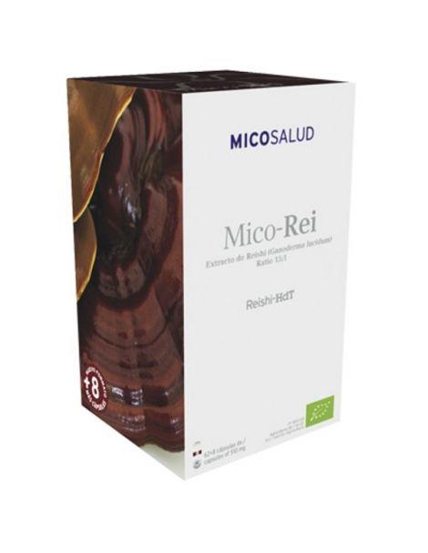 Mico-Rei (Reishi HdT) Hifas da Terra - 70 cápsulas