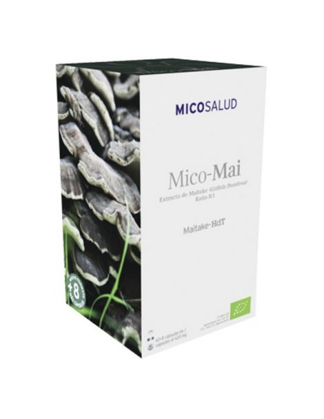 Mico-Mai (Maitake HdT) Hifas da Terra - 70 cápsulas