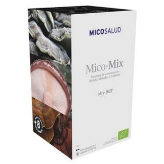 Mico-Mix (Reishi, Maitake y Shiitake HdT) Hifas da Terra - 70 cápsulas