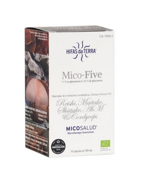 Mico-Five Hifas da Terra - 70 cápsulas