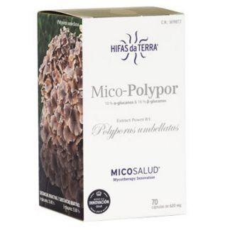 Mico-Polypor (Polyporus HdT) Hifas da Terra - 70 cápsulas