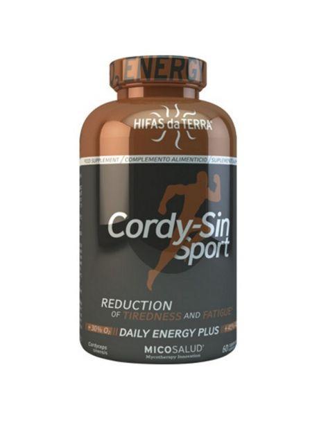Cordy-Sin Sport Hifas da Terra - 60 cápsulas