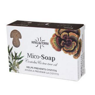 Jabón Mico-Soap Prevención Cistitis Hifas da Terra - 2 x 75 gramos
