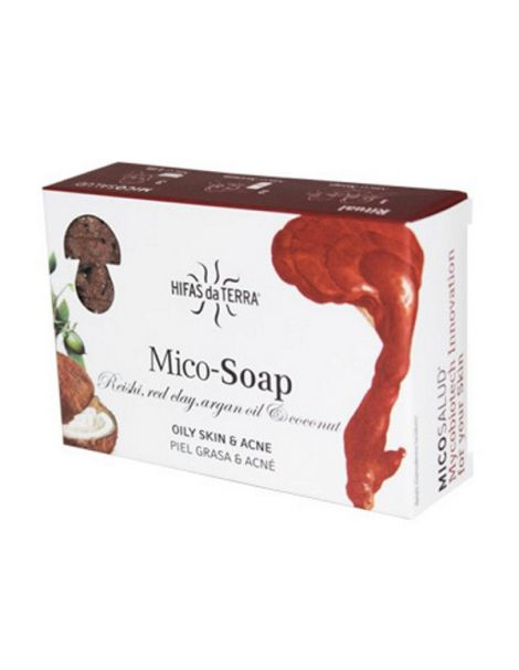 Jabón Mico-Soap Piel Grasa & Acné Hifas da Terra - 2 x 75 gramos