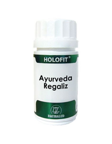 Holofit Ayurveda Regaliz Equisalud - 50 cápsulas