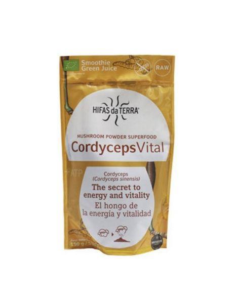 Superfood Cordyceps Vital Hifas da Terra - 150 gramos