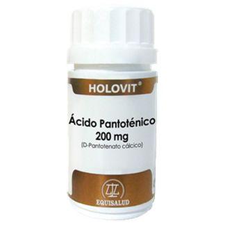 Holovit Ácido Pantoténico (D-Pantotenato Cálcico) Equisalud - 50 cápsulas