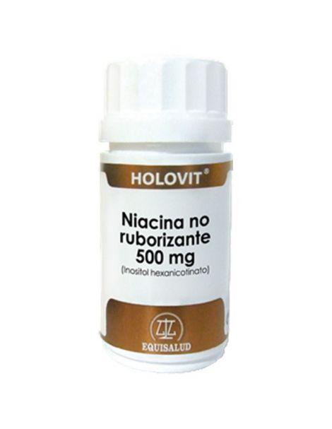 Holovit Niacina No Ruborizante (Inositol Hexanicotinato) Equisalud - 50 cápsulas