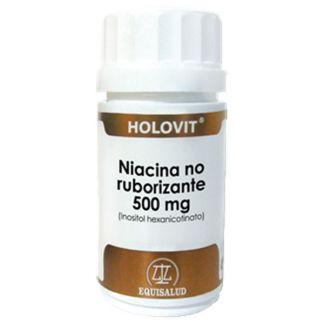 Holovit Niacina No Ruborizante (Inositol Hexanicotinato) Equisalud - 180 cápsulas