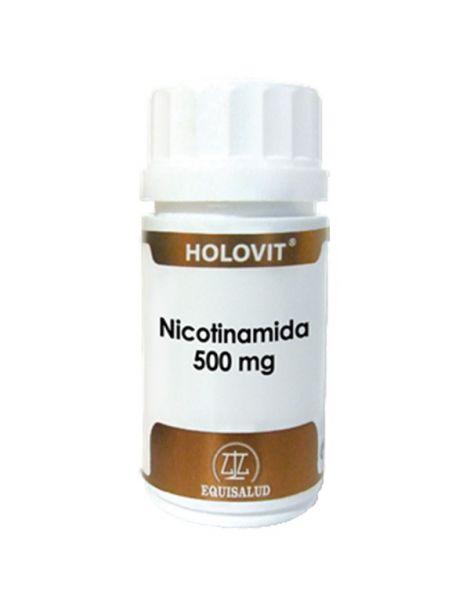 Holovit Nicotinamida Equisalud - 50 cápsulas