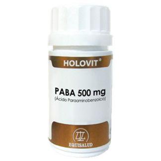 Holovit PABA (Ácido Paraaminobenzoico) Equisalud - 50 cápsulas