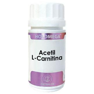 Holomega Acetil L-Carnitina Equisalud - 50 cápsulas