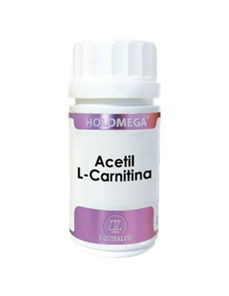 Holomega Acetil L-Carnitina Equisalud - 180 cápsulas