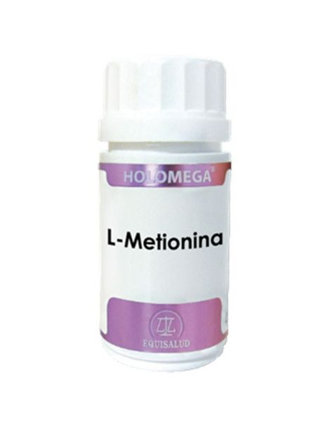 Holomega L-Metionina Equisalud - 50 cápsulas