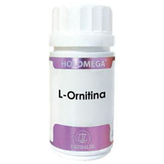 Holomega L-Ornitina Equisalud - 50 cápsulas