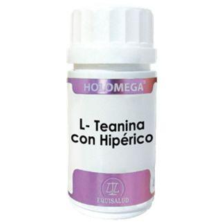 Holomega L-Teanina con Hipérico Equisalud - 50 cápsulas