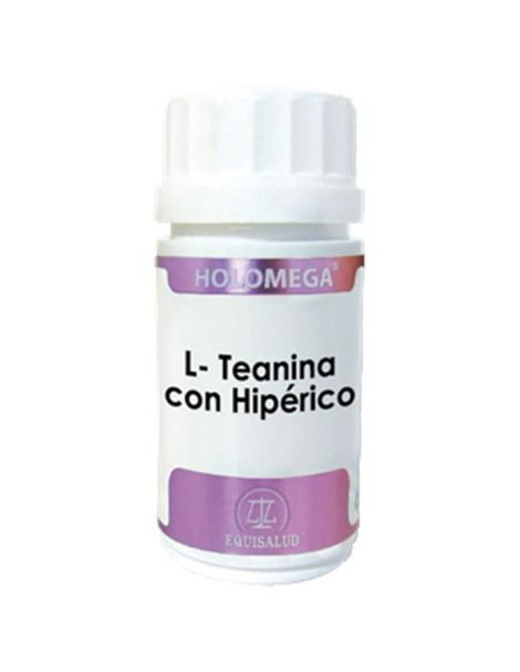 Holomega L-Teanina con Hipérico Equisalud - 180 cápsulas