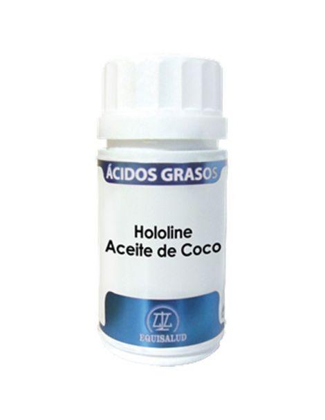 Hololine Aceite de Coco Equisalud - 120 perlas