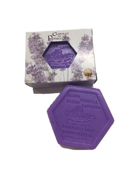 Jabón Hexagonal de Miel y Lavanda Castillo de Peñalver - 100 gramos
