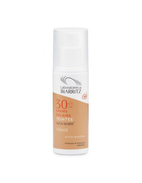 Crema Facial Color Light SPF 30 Alga Maris Biarritz - 50 ml.