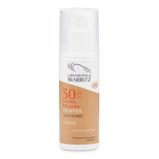 Crema Facial Color Golden SPF 30 Alga Maris Biarritz - 50 ml.