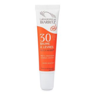 Bálsamo Labial Protector Solar SPF 30 Alga Maris Biarritz - 15 ml.
