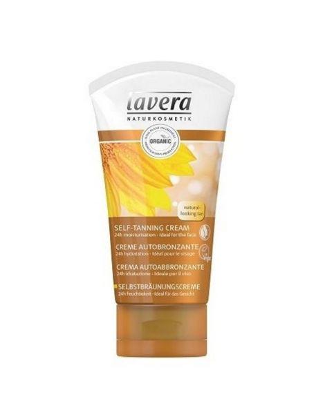 Crema Autobronceadora Facial Lavera - 50 ml.